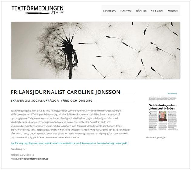 textformedling